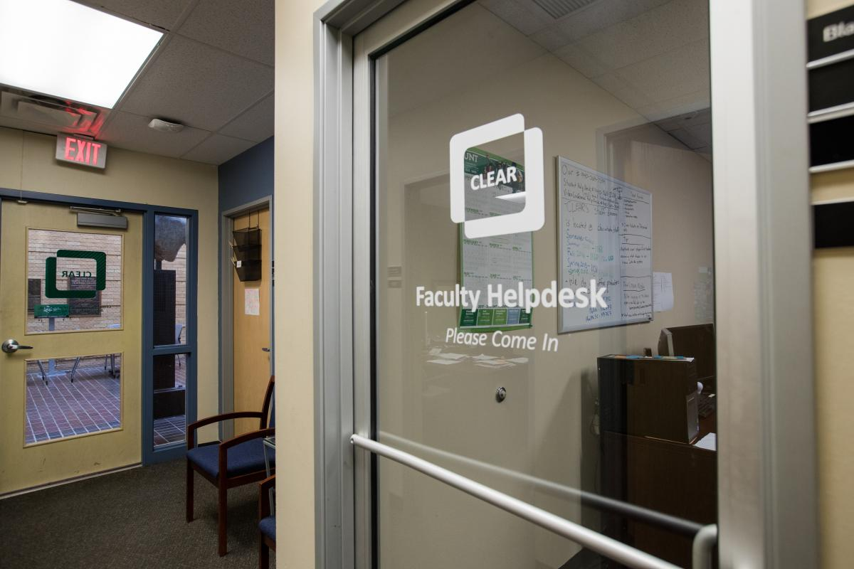 clear faculty helpdesk