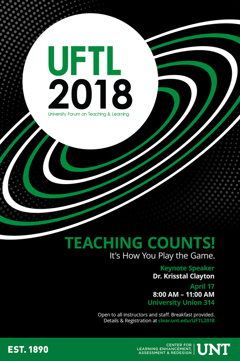 UFTL 2018 event poster